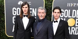 james bond pierce brosnan sons golden globes