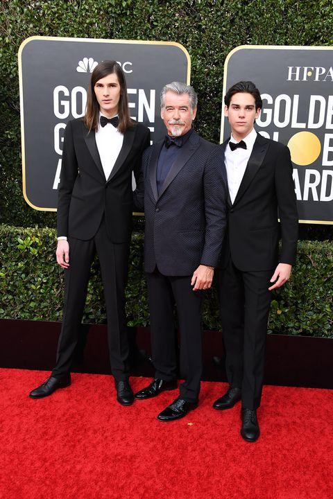 best-dressed men golden globes