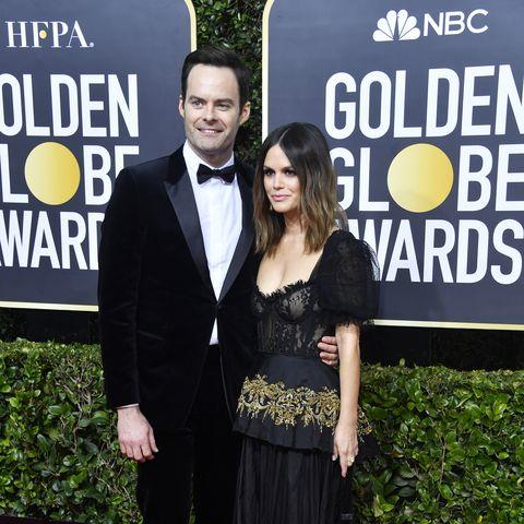 Rachel Bilson and Bill Hader