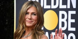Jennifer Aniston brad pitt golden globes acceptance speech