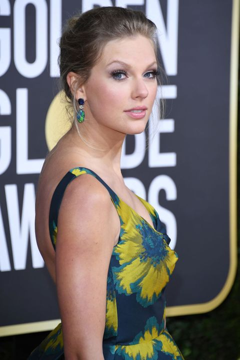 beverly hills, california   january 05 taylor swift attends the 77th annual golden globe awards at the beverly hilton hotel on january 05, 2020 in beverly hills, california photo by daniele venturelliwireimage