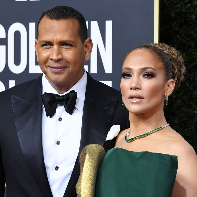 beverly hills, california   january 05 jennifer lopez and alex rodriguez arrives at the 77th annual golden globe awards attends the 77th annual golden globe awards at the beverly hilton hotel on january 05, 2020 in beverly hills, california photo by steve granitzwireimage