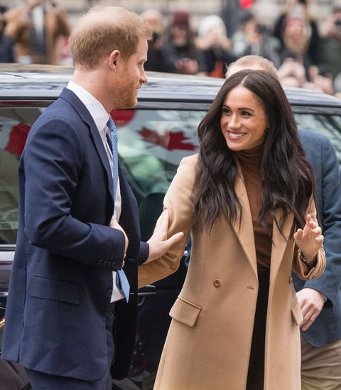 Meghan and Harry First 2020 Appearance