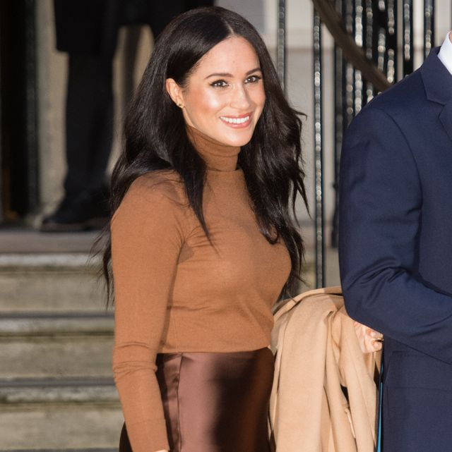 london, england   january 07 meghan, duchess of sussex visits canada house on january 07, 2020 in london, england photo by samir husseinwireimage