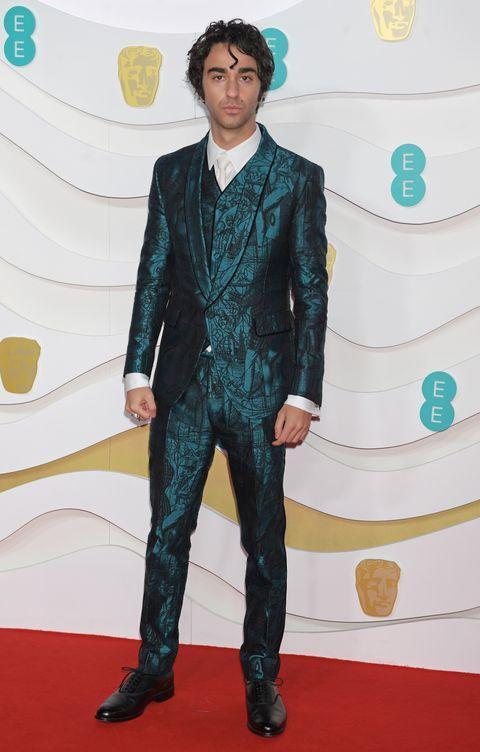 best-dressed men 2020 baftas