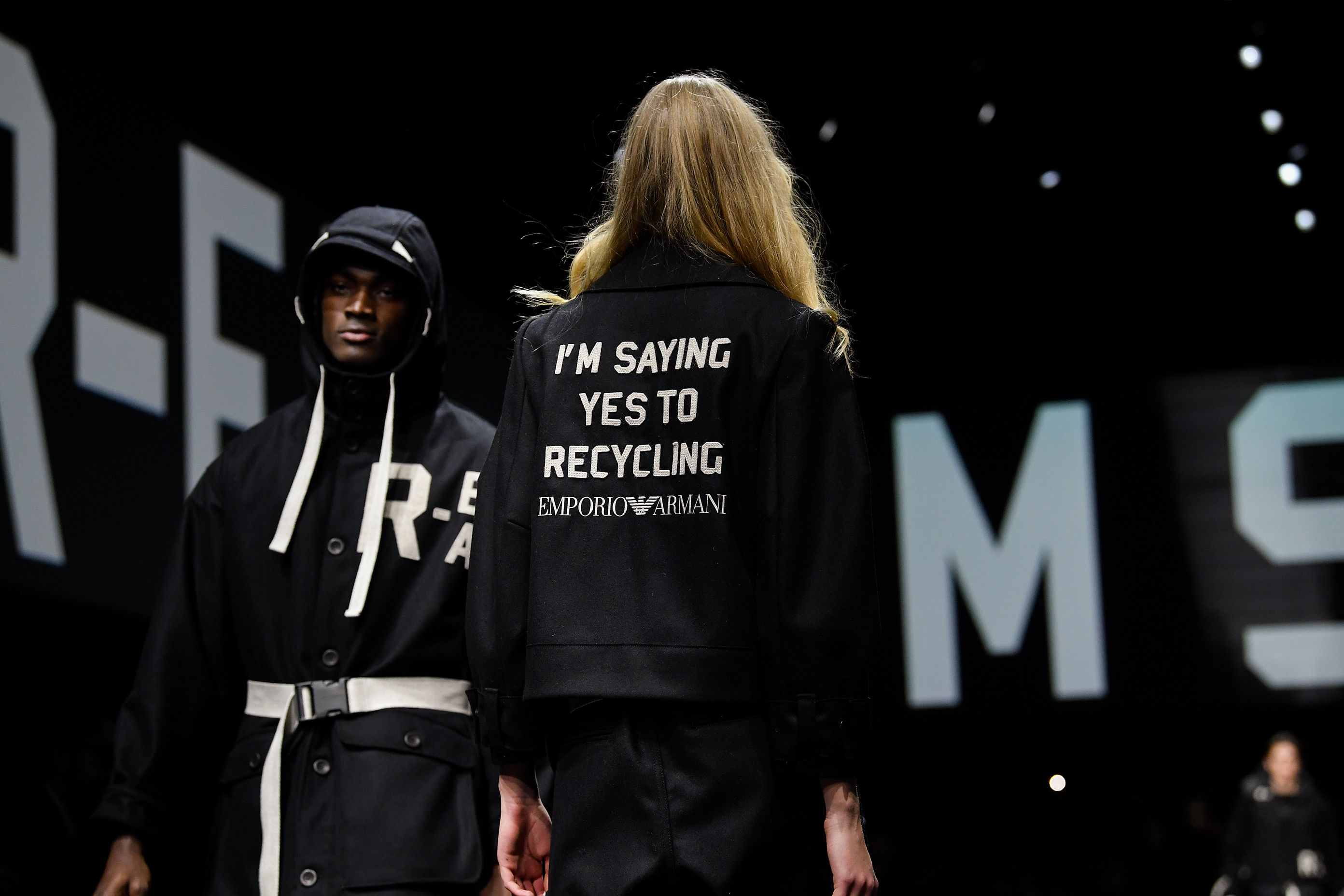 Milan Fashion Week: Giorgio Armani's Green New Deal