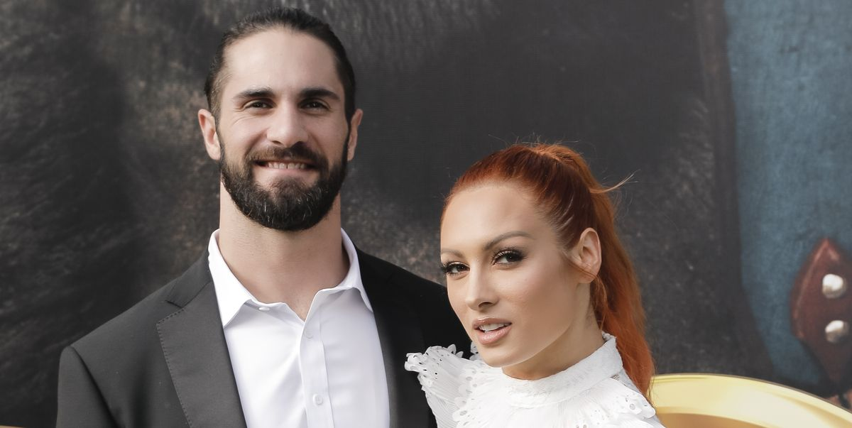 WWE's Seth Rollins shares sweet photo of Becky Lynch and daughter Roux