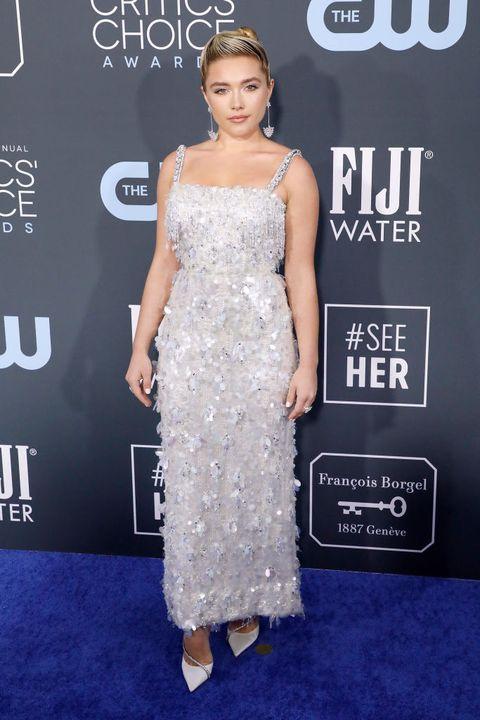 Florence wearing Prada