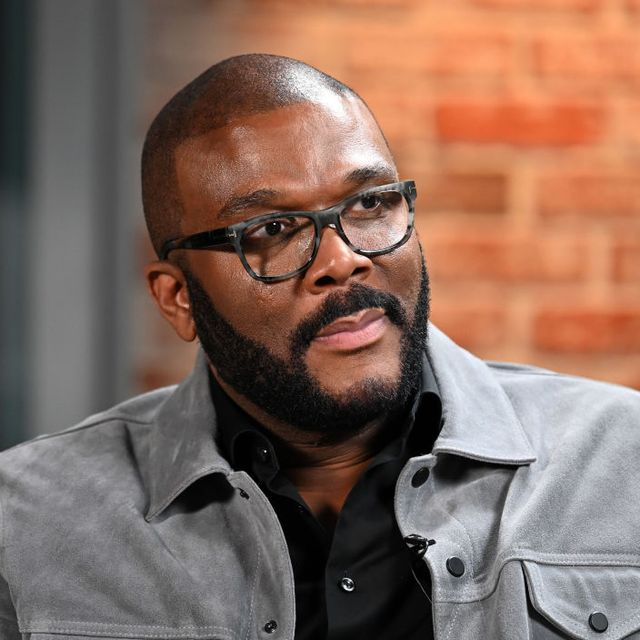 new york, new york   january 13 exclusive coverage actorproducer tyler perry visits linkedin studios on january 13, 2020 in new york city photo by slaven vlasicgetty images