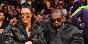 Kim Kardashian - Tristan Thompson Lakers Game