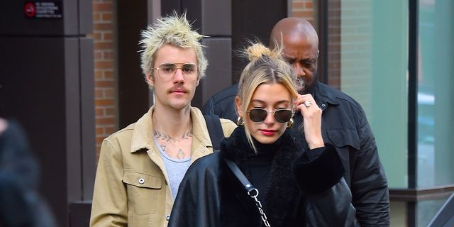 Hailey Bieber Responds To Justin Bieber Shaving Off His Moustache And, Same