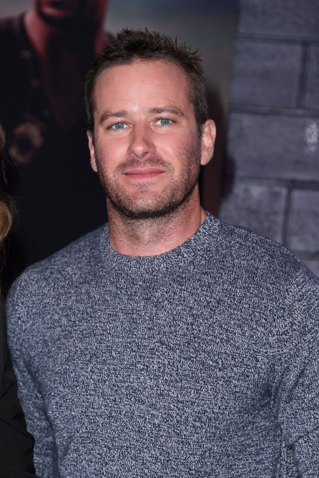 hollywood, california   january 14 armie hammer attends the premiere of columbia pictures bad boys for life at tcl chinese theatre on january 14, 2020 in hollywood, california photo by jon kopaloffgetty images,