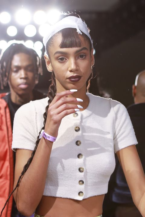 laquan smith backstage february 2020 new york fashion week