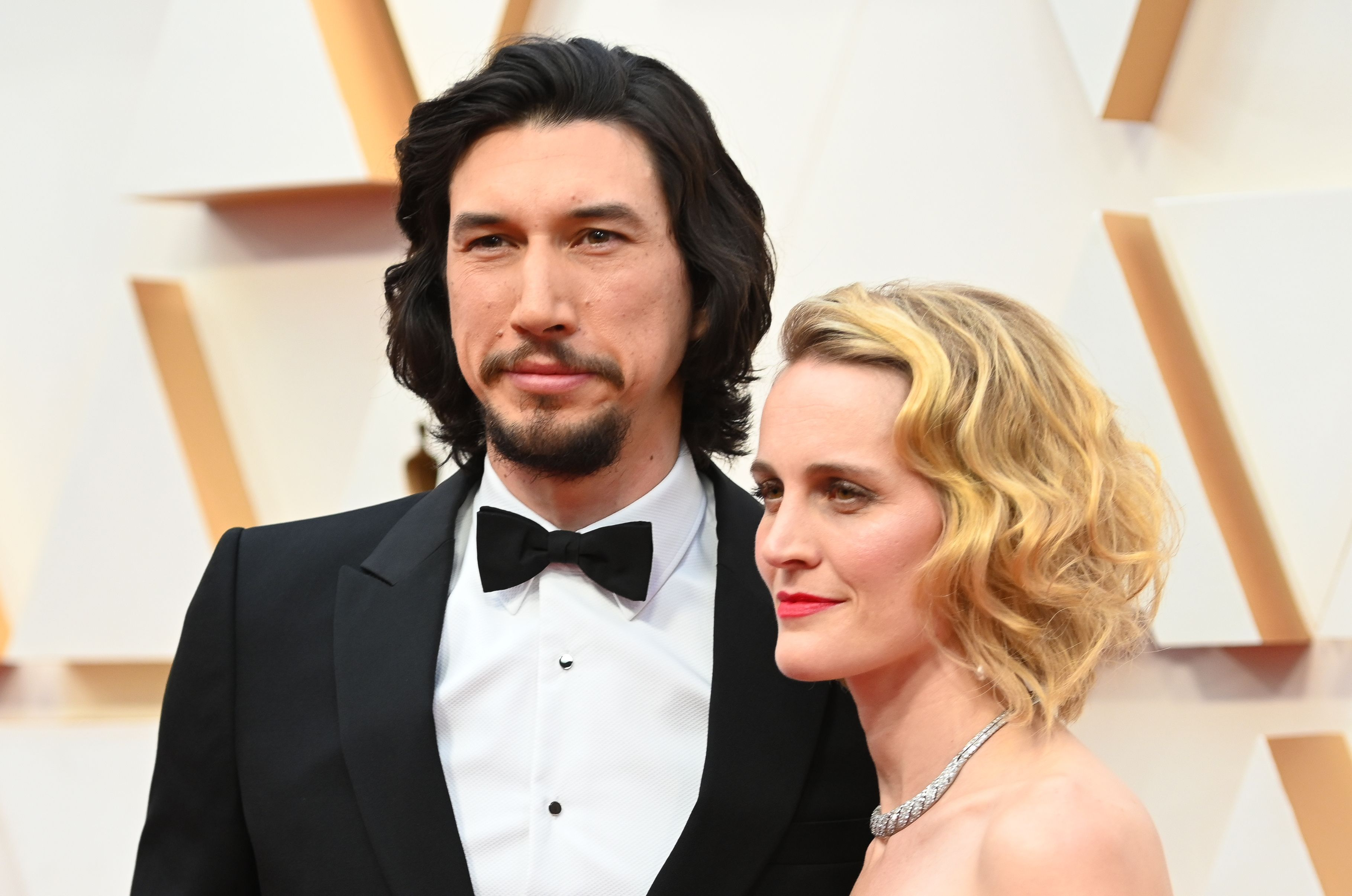 Adam Driver's Oscars 2020 Hair Is A Marriage Story With A Happy Ending