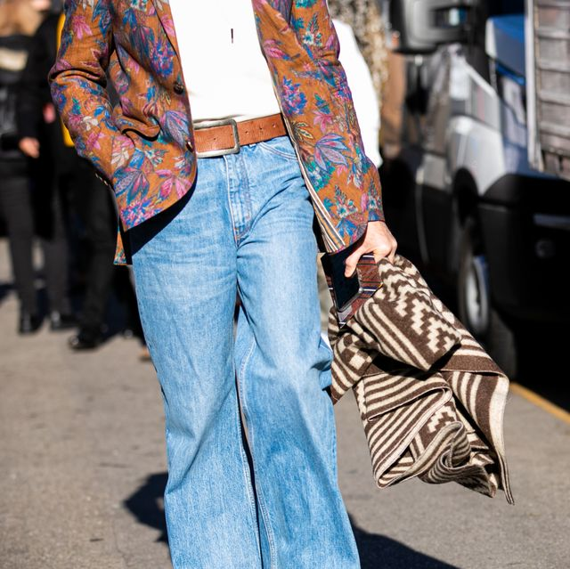 milan, italy   january 12 alberto ortiz rey, fashion details, is seen outside the etro show during the milan mens fashion week on january 12, 2020 in milan, italy photo by claudio laveniagetty images