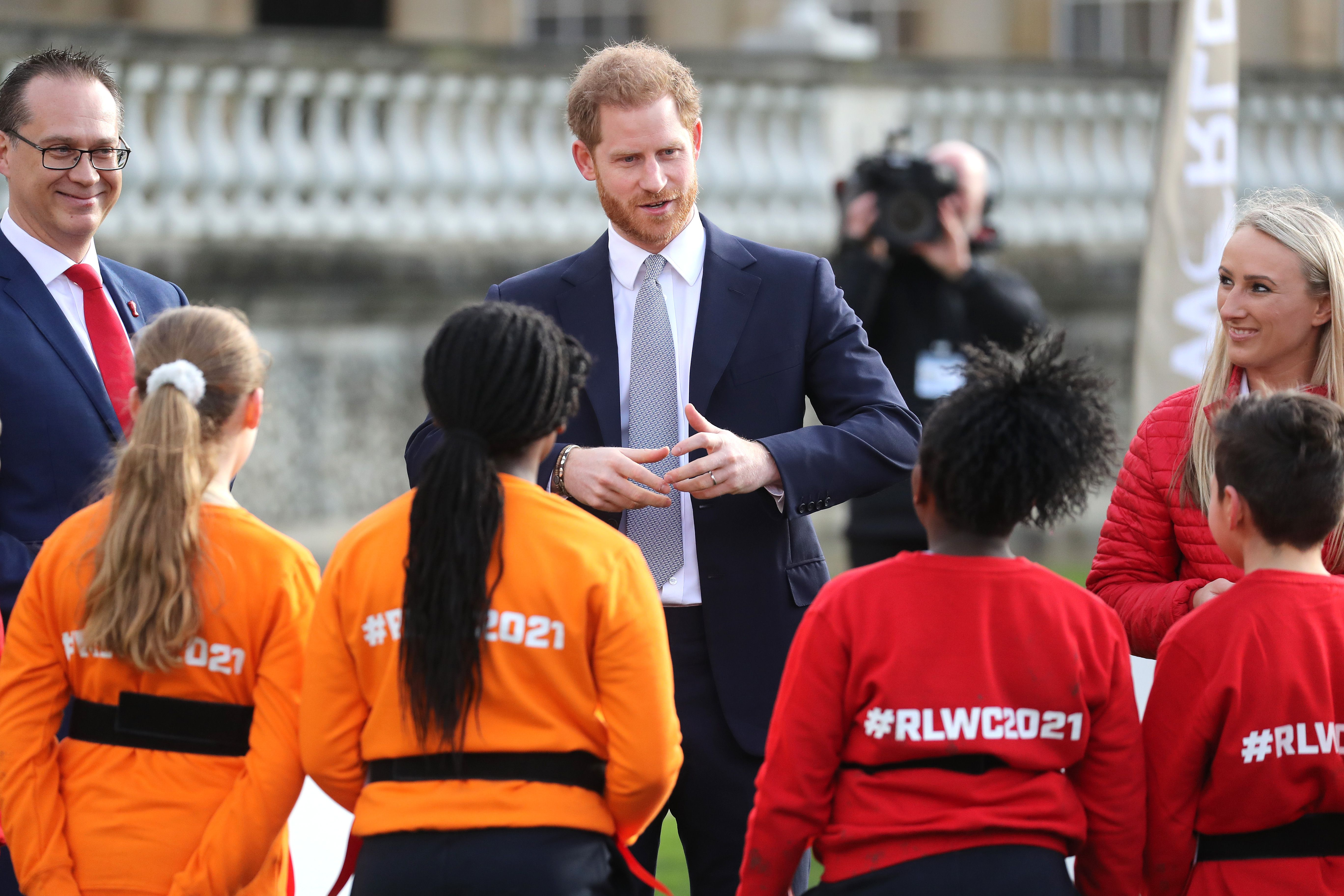 Prince Harry Steps Out for the First Time Since Announcing Royal Resignation