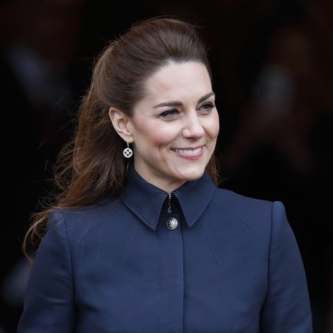Kate Middleton steps out in super stylish military jacket
