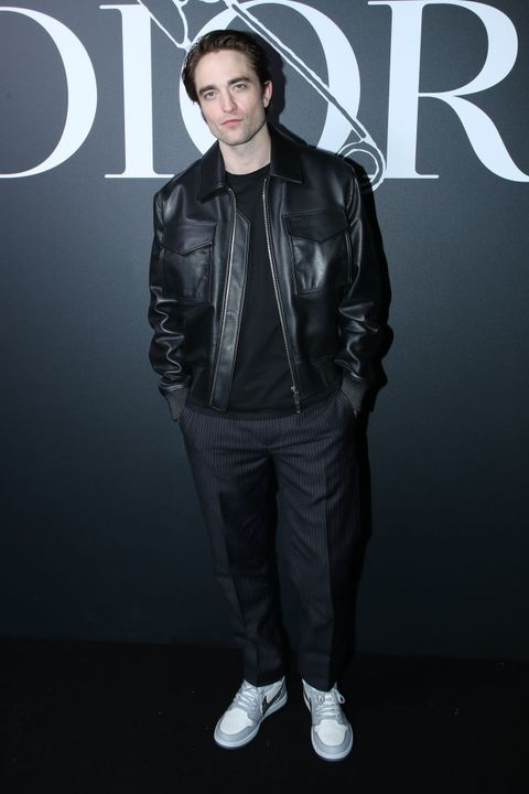 paris, france   january 17 robert pattinson attends the dior homme menswear fallwinter 2020 2021 show as part of paris fashion week on january 17, 2020 in paris, france photo by bertrand rindoff petroffgetty images