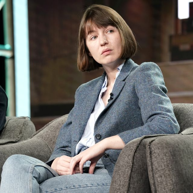 pasadena, california   january 17 sally rooney speaks onstage during the hulu panel at winter tca 2020 at the langham huntington, pasadena on january 17, 2020 in pasadena, california photo by erik voakegetty images for hulu