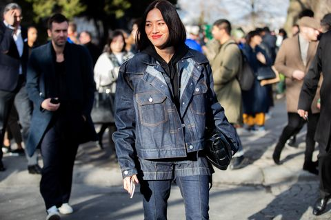 Street Style - Paris Fashion Week - Menswear F / W 2020-2021: Day Five