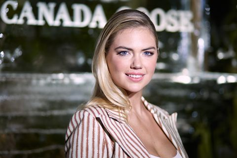 Canada Goose And Vogue Host Cocktails And Conversation About Impact Climate Change Has On The Future Of Polar Bears With Kate Upton