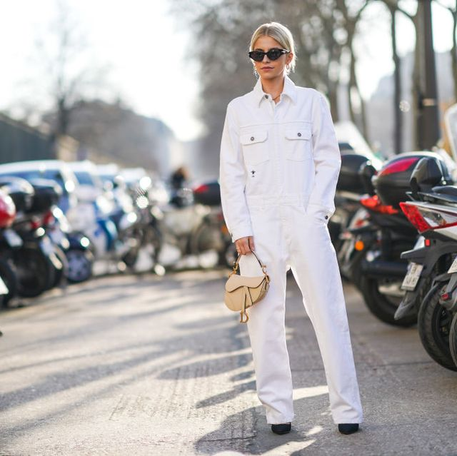 Street Style  - Paris Fashion Week - Haute Couture Spring/Summer 2020 : Day One