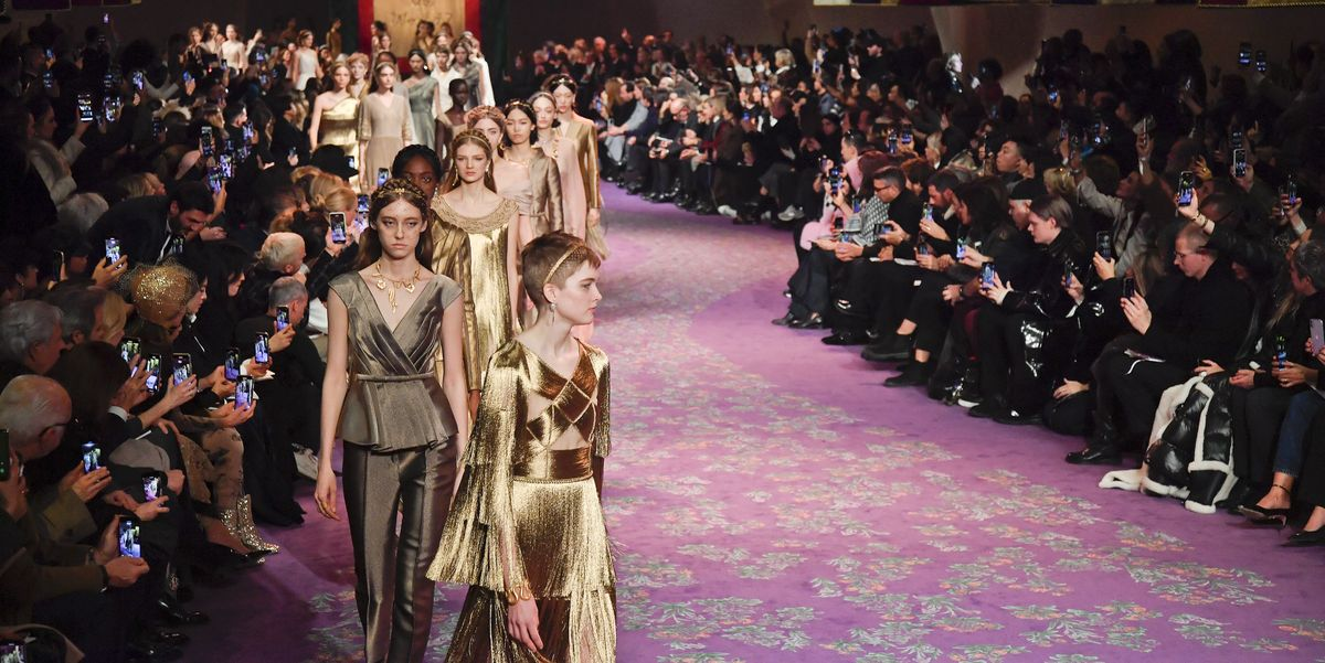 London and Paris Men's and Haute Couture Fashion Weeks Cancelled