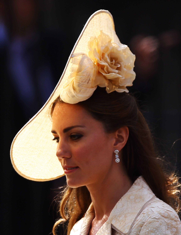 30+ Best Royal Wedding Hats - British Royal Wedding Hats Through the Years ce8306b8e99