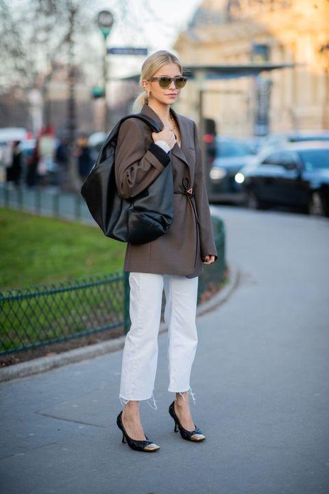 Street Style - Paris Fashion Week - Haute Couture Printemps / Été 2020: Jour 2