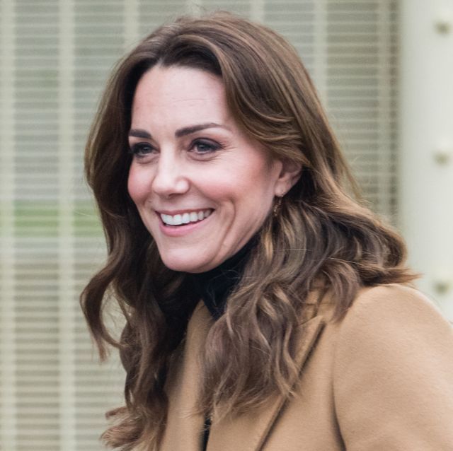 woking, england   january 22 catherine, duchess of cambridge visits hmp send on january 22, 2020 in woking, england  the visit is part of hrhs 24 hour tour of the country to launch 5 big questions on the under 5s photo by samir husseinwireimage