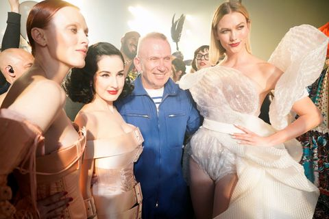 Jean-Paul Gaultier : Backstage Views - Paris Fashion Week - Haute Couture Spring/Summer 2020