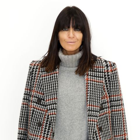 london, england   february 17 claudia winkleman attends the johnstons of elgin presentation during london fashion week february 2020 at the serpentine gallery on february 17, 2020 in london, england photo by david m benettdave benettgetty images