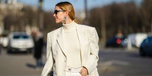 Street Style - Paris Fashion Week - Haute Couture Spring/Summer 2020 : Day Two