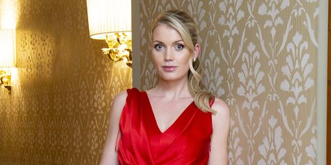 milan, italy   february 19   lady kitty spencer attends the alberta ferretti after party during milan fashion week fallwinter 2020 2021 at palazzo donizetti on february 19, 2020 in milan, italy  photo by david m benettdave benettgetty images