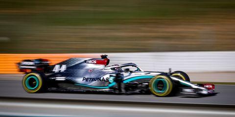 Lewis Hamilton of Mercedes AMG Petronas Formula One Team