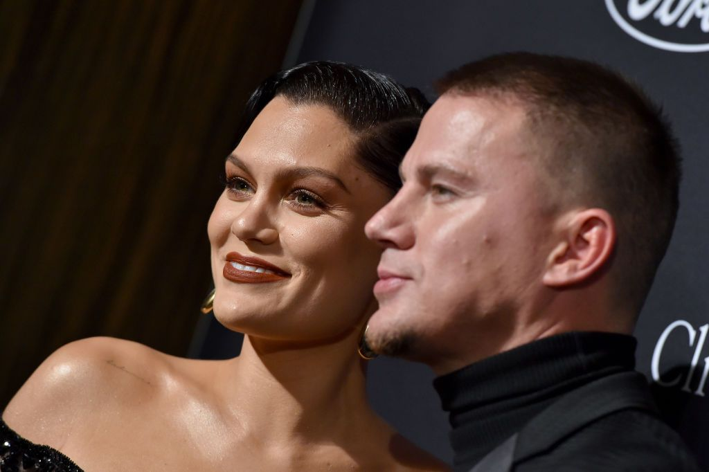Jessie J and Channing Tatum look totally loved-up on the red carpet