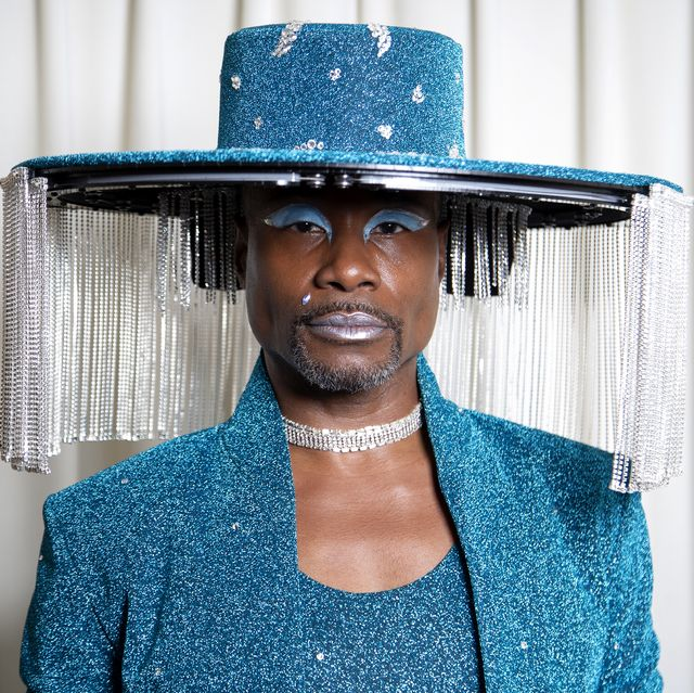 Billy Porter Gets Ready For The 62nd Annual GRAMMY Awards