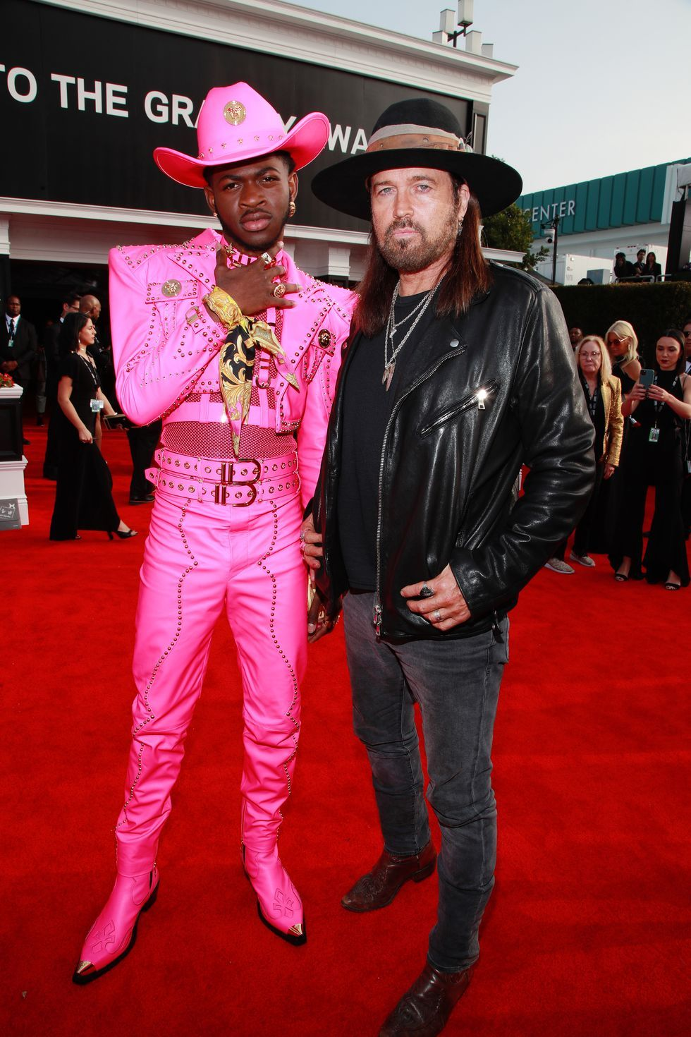 Lil Nas X Brings Pink Bondage to the Grammys