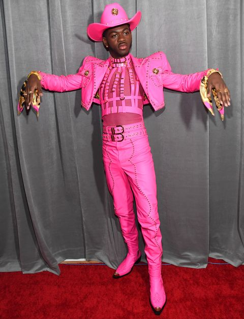 Men Wearing Pink Suits at the Grammys 2020 - Every Dude at the ...