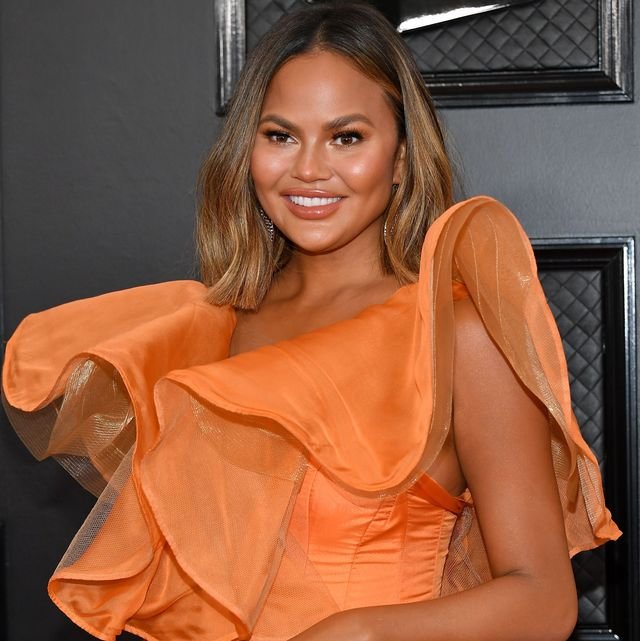 los angeles, california   january 26 chrissy teigen attends the 62nd annual grammy awards at staples center on january 26, 2020 in los angeles, california photo by amy sussmangetty images