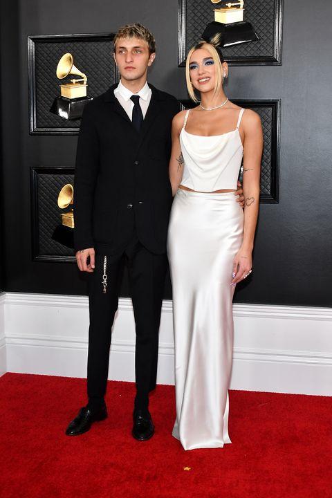 Grammy Awards cute couples - Dua Lipa and Anwar Hadid