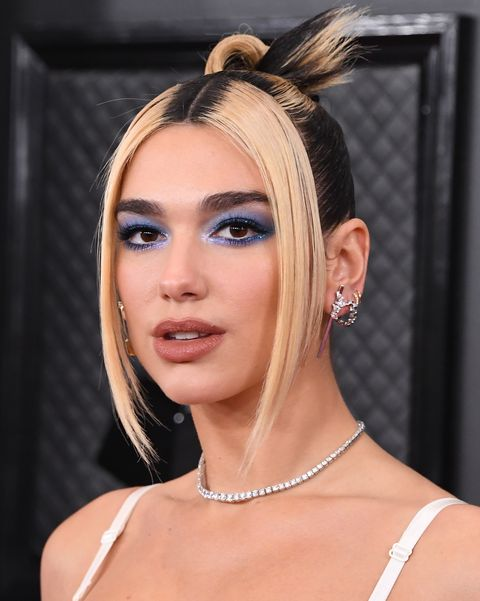 Celebrity Blue Eyeshadow