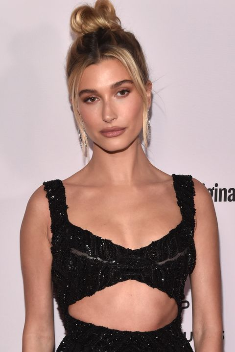 los angeles, california   january 27 hailey bieber attends the premiere of youtube originals justin bieber seasons at the regency bruin theatre on january 27, 2020 in los angeles, california photo by alberto e rodriguezgetty images