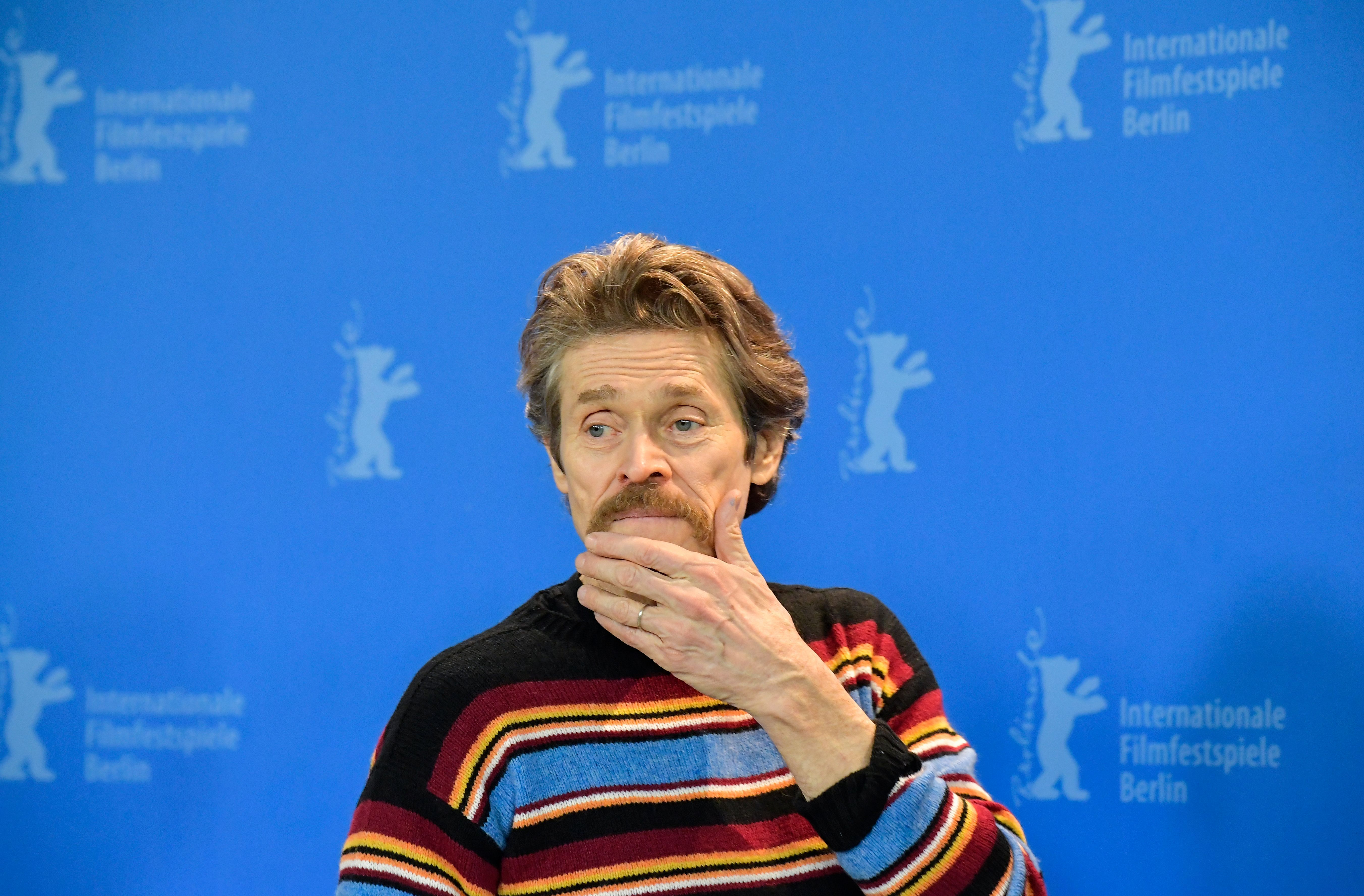 Willem Dafoe Is Dressed Like The Uncle Your Dad Is Terribly Jealous Of