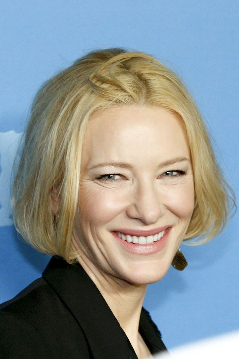 berlin, germany   february 26 actress cate blanchett poses at the stateless premiere during the 70th berlinale international film festival berlin at zoo palast on february 26, 2020 in berlin, germany photo by isa foltinwireimage