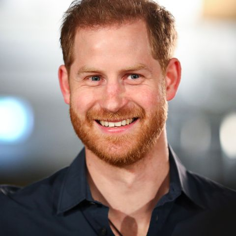 london, england   february 28 prince harry, duke of sussex speaks with members of the invictus games choir at abbey road studios, where a single has been recorded for the invictus games foundation on february 28, 2020 in london, england  photo by hannah mckay   wpa pool  gettyimages