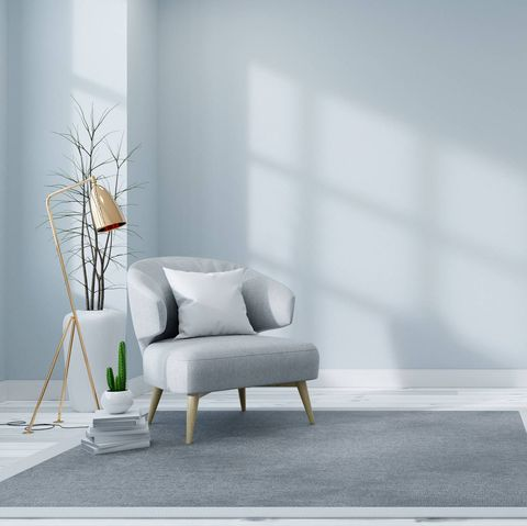 Furniture, White, Room, Couch, Interior design, Living room, Floor, Wall, Chair, Grey,