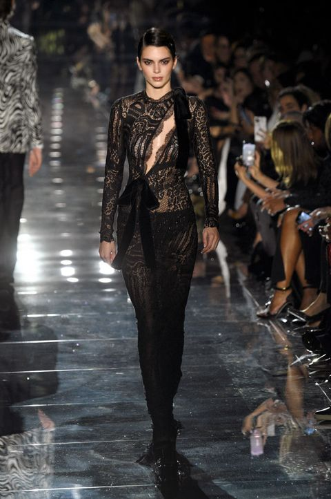 kendall jenner aw20 tom ford nyfw