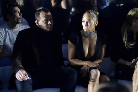 los angeles, california   february 07 alex rodriguez and  jennifer lopez attend tom ford autumnwinter 2020 runway show at milk studios on february 07, 2020 in los angeles, california photo by stefanie keenangetty images for tom ford autumnwinter 2020 runway show