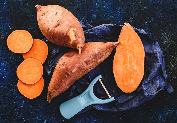 sweet potatoes in ketogenic diet